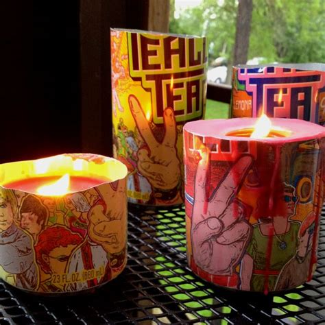 diy hippie bedroom my diy candles made from peace tea cans diy