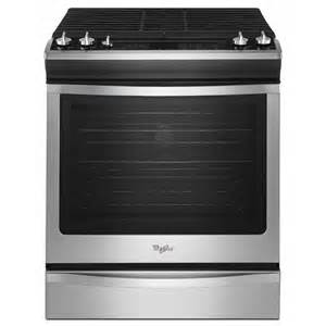 Cleaning Bathroom Ceiling Shop Whirlpool Gold 5 Burner 5 8 Cu Ft Slide In Convection