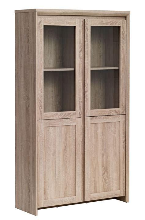 Display cabinet hallund oak jysk
