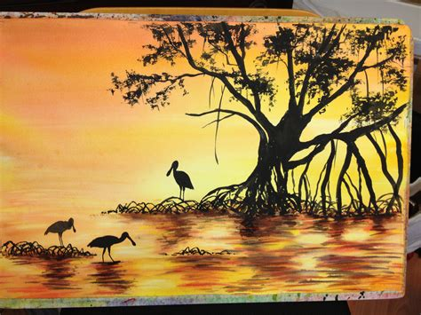 landscape painting tips easy landscape paintings for beginners sunset paintings for beginners watercolor painting