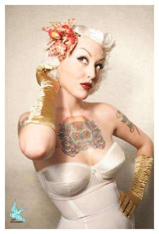 tattoo girl costume inked pin up studios 666photography has handmade costumes