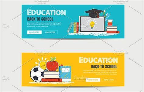banner design education 11 school banner designs design trends premium psd