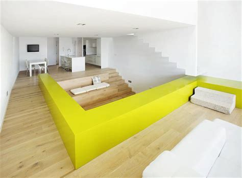 House Design Color Yellow by Cool Color Blocking Technique Defines And Distinguishes