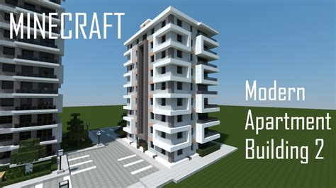 minecraft modern apartment building 2