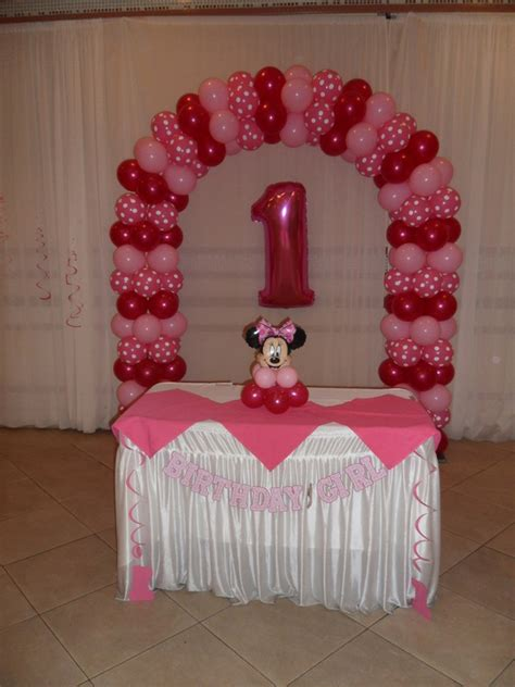 Minnie Mouse Party 3 Party Decorations By Teresa