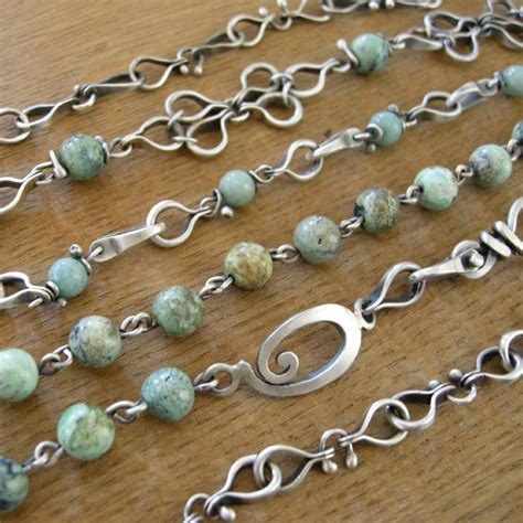 Handmade Chains - 1000 images about wire jewelry ideas on