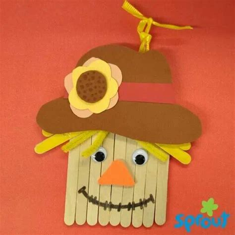 scarecrow crafts for scarecrow craft for the home