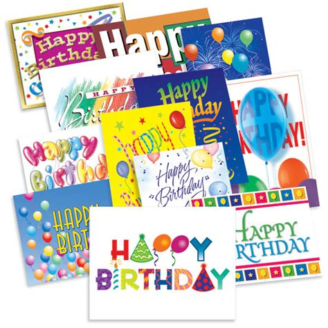Assorted Birthday Cards For Employees Birthday Treasure Assortment Web Special