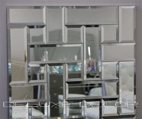 beveled edge mirror wall tiles bevelled edge tile mosaic frame mirror panel 4560 1275 x