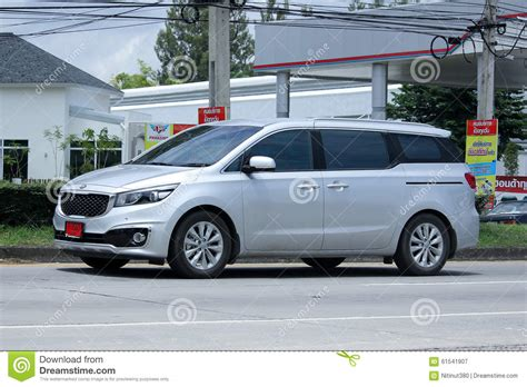 mpv car kia mpv car kia grand carnival editorial photography