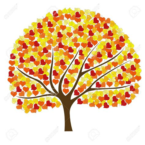fall pictures clip beautiful autumn tree clipart