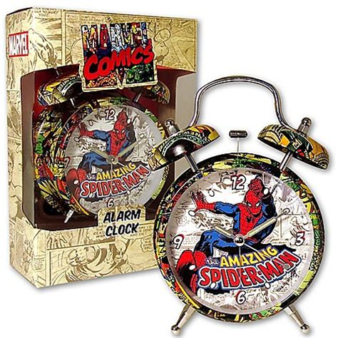 buy spider 4 inch alarm clock from bed bath beyond