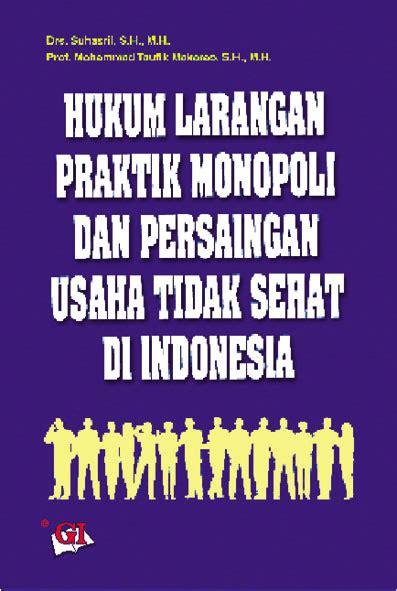 Hukum Persaingan Usaha Di Indonesia 1 yudhistira perguruan tinggi umum