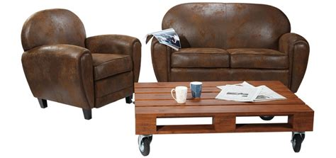 fauteuil club marron vieilli offrez vous un club 224 prix
