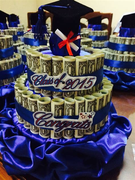 graduation money cake for boys graduation ceremony