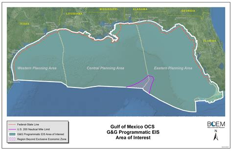 Gulf Of Mexico Continental Shelf by Gulf Of Mexico Geological And Geophysical G G Activities