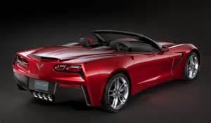 2014 chevrolet corvette stingray convertible revealed some