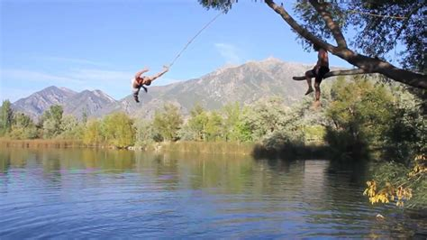 best rope for swing the best of mona rope swing youtube