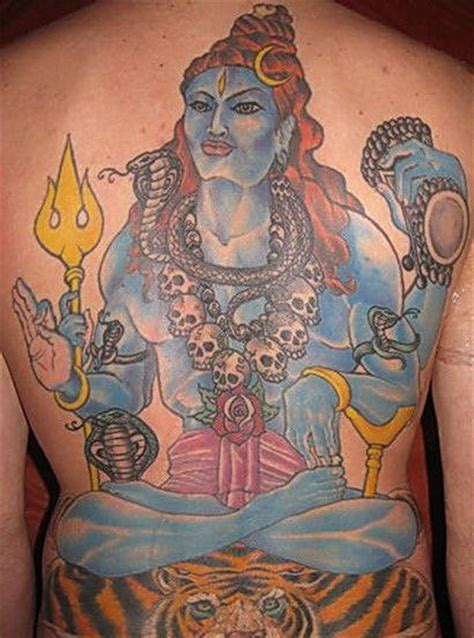 shivji tattoo designs shivji on back