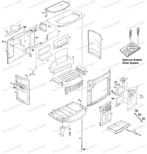 Vermont Castings Fireplace Parts by Intrepid I 1302 The Cozy Cabin Stove Fireplace Parts Store