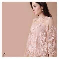 Baju Batik Modern Bolero Blouse Batik Applique Baju Atasan Bol003a i like that the lace top is flowy and more most