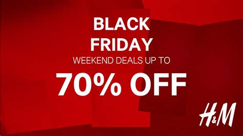 Shop Hm Friends And Family This Weekend by H M Black Friday Weekend Sale Save Up To 70 For