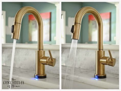 gold kitchen faucet the prettiest kitchen faucet you did see the chronicles of home