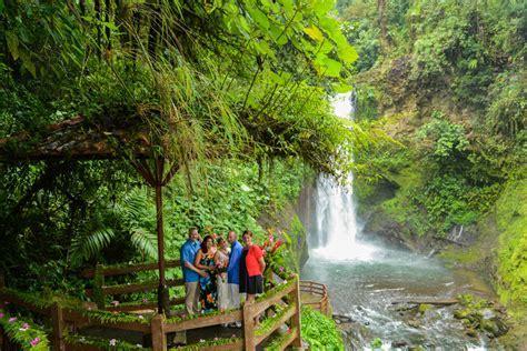 Michelle Mark La Paz Waterfall Gardens Peace Lodge