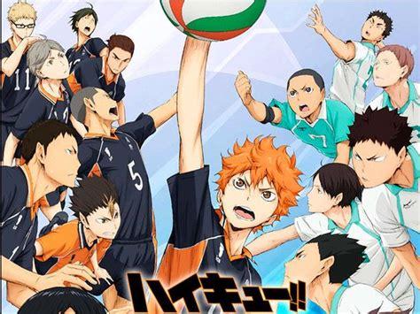 film volleyball anime anime mira el trailer de la nueva pel 237 cula de haikyuu