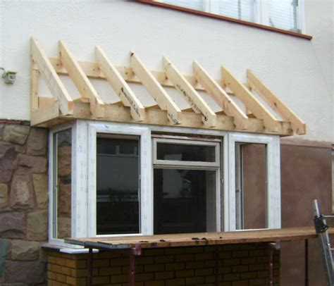 bow window roof framing pin bay window framing before on