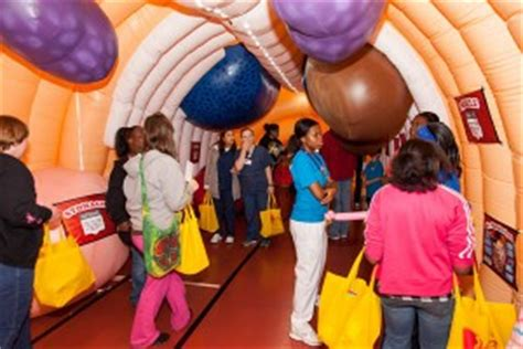 health themed events health fair ideas medical inflatables