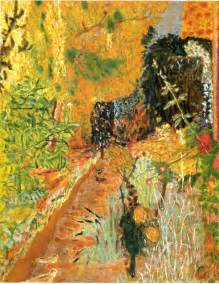 the garden c 1937 bonnard wikiart org