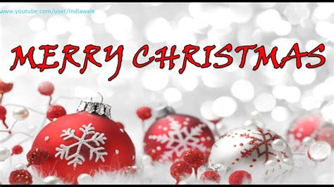 merry christmas happy  year    wishes whatsapp video message  card