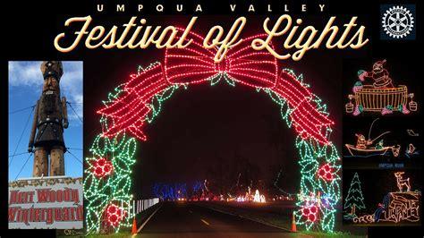 lights oregon festival of lights roseburg oregon