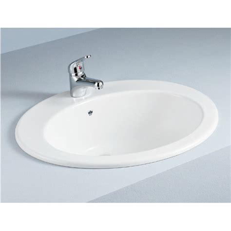 Inset Basin Bathroom by Inset Vanity Basin With Overflow Temple Webster