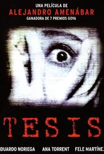 thesis tesis movie thesis 1996 rotten tomatoes