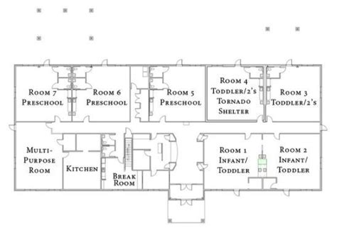 daycare floor plan ideas floor plan for children kanys pinterest childcare