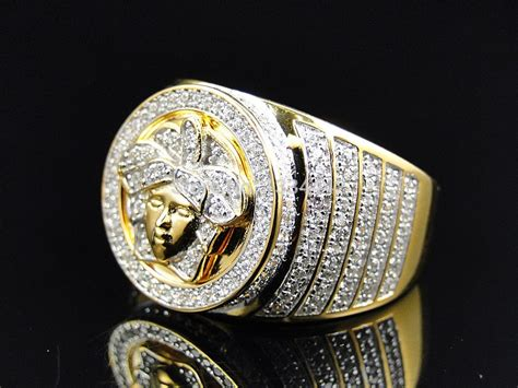 6 Bling Rings To Own by 2015 New Arrived Luxury Mens Big Ring Gold Jewelry Bling