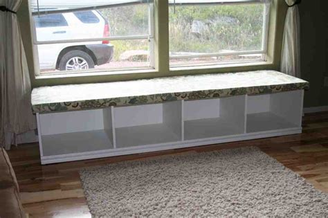 Window Bench With Storage window seat storage bench plans home furniture design