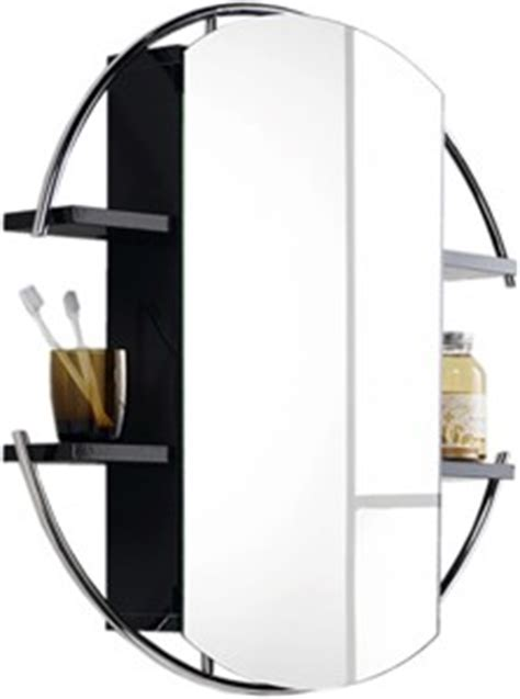round mirror bathroom cabinet round mirror cabinet shelves black 740mm hudson reed