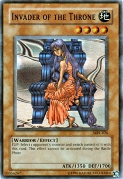 Kartu Yugioh Protector Of Throne yu gi oh magic ruler single invader of the throne