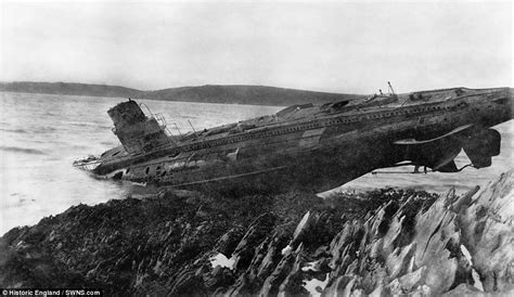 u boat in world war 1 never seen photos of ww1 submarines daily mail online