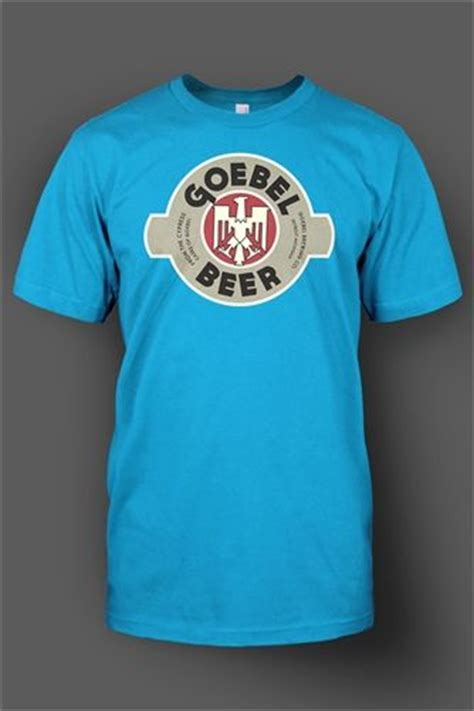 Blouse Catol 48223 goebel label once produced by goebel brewing co from detroit mi brew tees vintage