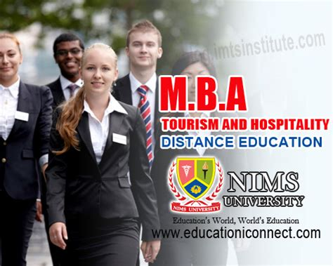 Mba In Tourism And Hospitality Management In Canada by Mba Tourism And Hospitality Management Nims