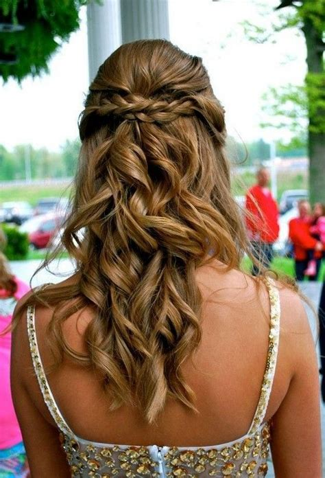 graduation simple hairstyles 20 best prom hair ideas 2017 prom hairstyles for long