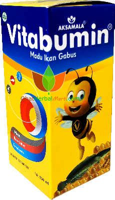 Vitabumin Madu Vitamin Suplemen Anak Albumin Berkualitas madu vitabumin asli vitamin anak susah makan toko obat herbal di bandung jual grosir