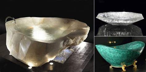 crystal bathtub baldi harrdos unique rock crystal bathtub superyachts com