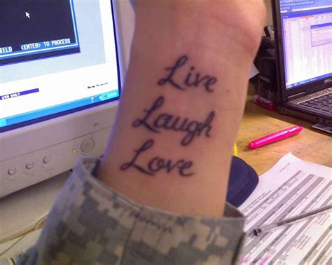 live laugh love tattoo for wrist aribic henna design for