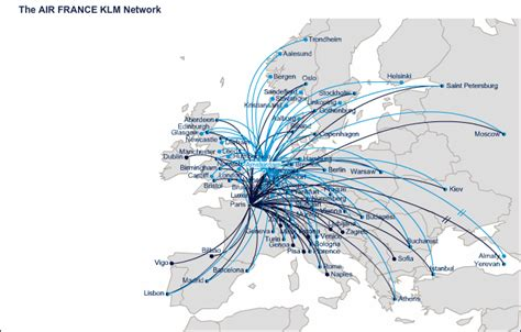 air france vols int rieurs air france route map europe from paris charles de gaulle