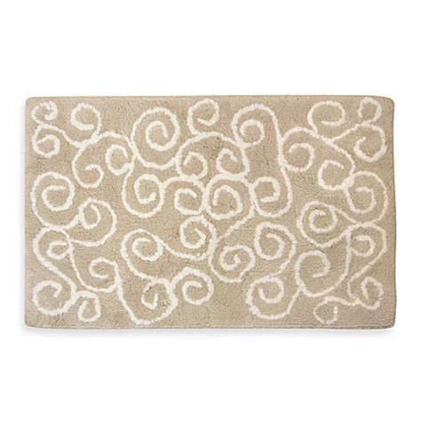park b smith rugs ultra spa by park b smith 174 symphony bath rugs in linen bed bath beyond